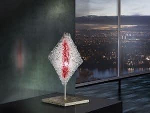Alaska table lamp, Förmige Diamant-Lampenschirm, für die Büros in der modernen Art