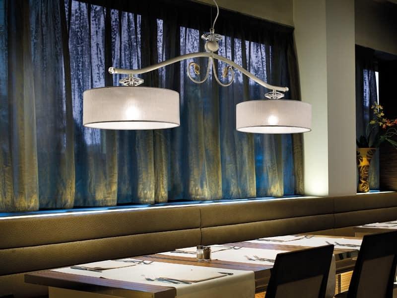 Charme Kronleuchter, Lampe im klassischen Stil, ideal für Restaurants