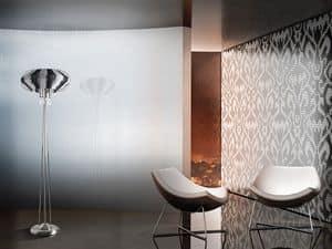 Full Moon floor lamp, Refined Stehlampe für Büros in einem modernen Stil