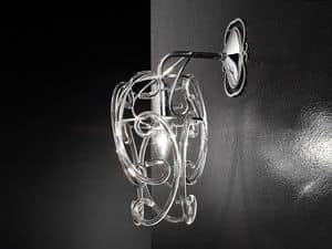 Gemini applique, Moderne Wandleuchte, stimmungsvolle Lichteffekte