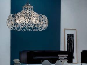 Gemini chandelier, Pendelleuchte mit 9 Leuchten für moderne Schlafzimmer