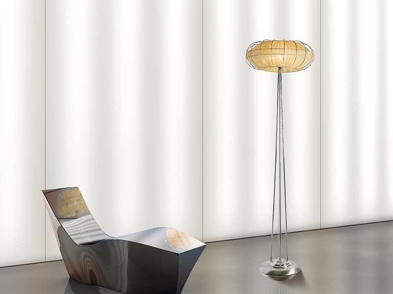 Moon floor lamp, Stehleuchten mit 1 Licht für feine Restaurants