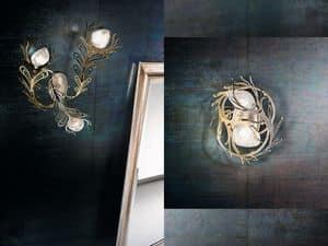 Musa applique, Wandbeleuchtung in verschiedenen Ausführungen, moderne Linie