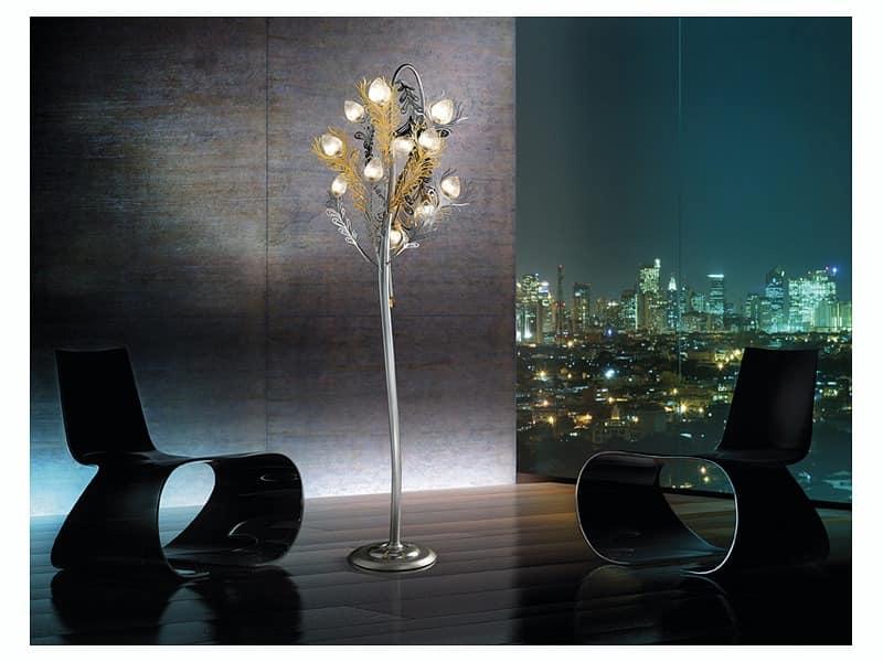 Musa floor lamp, Refined Stehlampe für Büros und Wohnräume