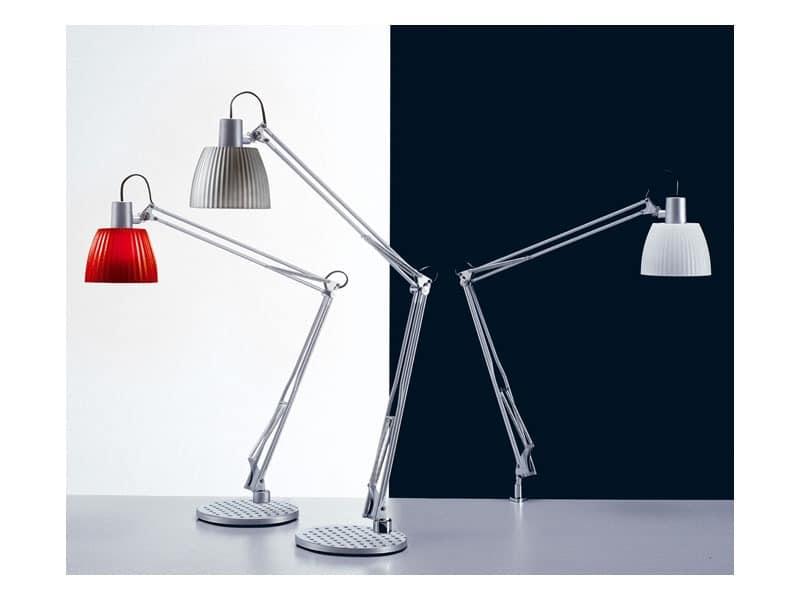 Opera, Tischleuchte für Leuchtstofflampen, für die Büros