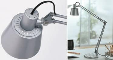 Prima, Technische Schreibtischlampe für Studien und Büros