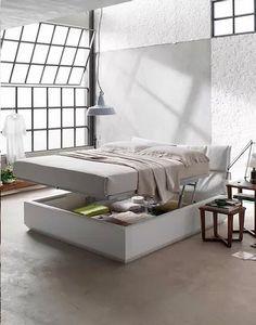 Full, Bett mit Aufbewahrungsbox
