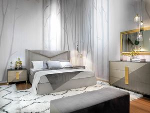 Morfeo Art. M0001_M0006, Modernes Bett, verfügbar mit Container