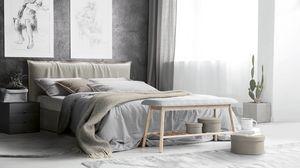 Naxos, Bett mit Stauraum
