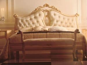 Art. 5900, Doppelbett für Schlafzimmer, klassisch, für Hotels