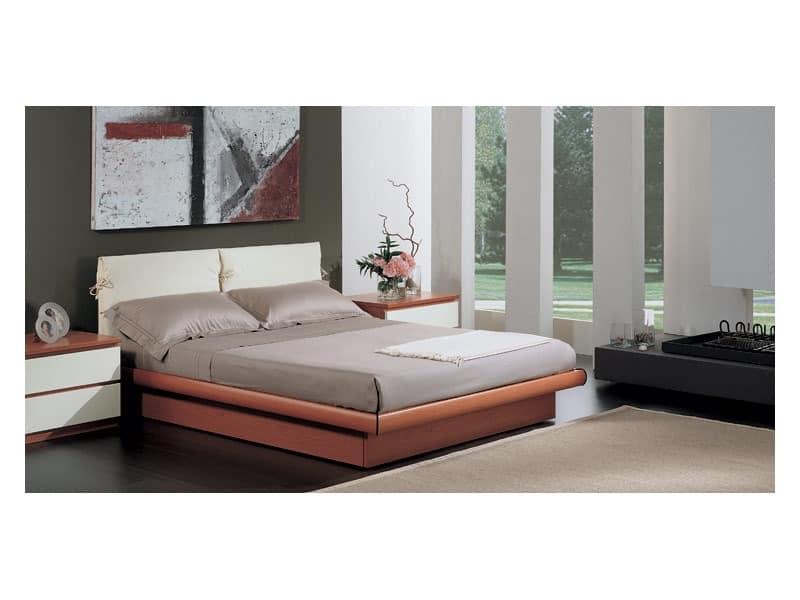 Bedroom 11, Mit Aufbewahrungsbox, gepolstertes Kopfteil mit abnehmbarem Polster, geeignet für moderne Möblierung Bett