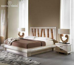 Bett Viruga, Ethnisches Bett mit Stauraum