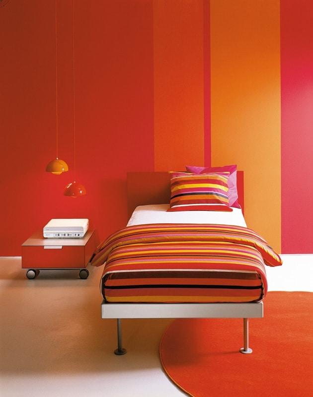 FILIPPO single, Einzelbett, minimalistischen Stil, verschiedene Größen