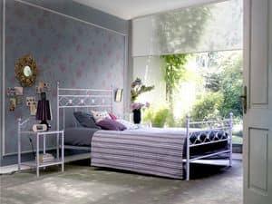 Incanto 140, Einzelbett in Metall, für Classic-Zimmer