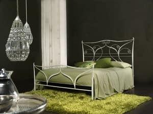 Klimt, Klassische Metall-Doppelbett, Laserschneiden