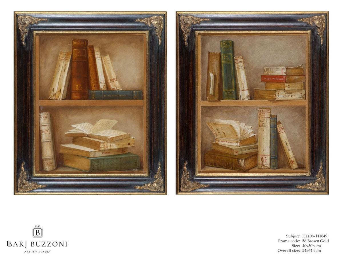 Epic Books – H 1108, Ölgemälde auf Leinwand
