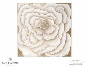 Rose, first dream – MT 492, Bild mit großer weißer Rose