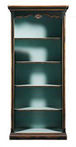 Carolina FA.0098, Outlet-Bücherregal im provenzalischen Stil