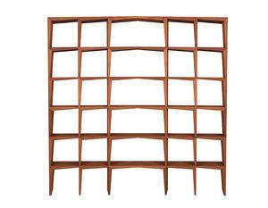 Kant 3620/F, Doppelseitiges Bücherregal aus Esche