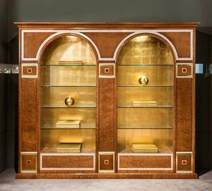 LB34 2 archi Bücherregal, Klassisches Bücherregal zu einem reduzierten Preis