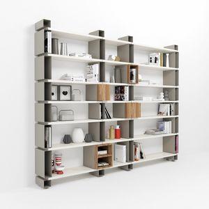 Modulo, Modulares Bücherregal