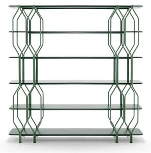 Mosaico, Bücherregal für geometrisches Design