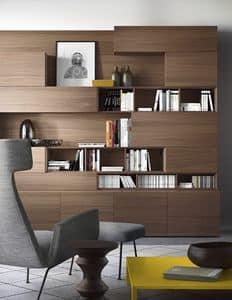 People P208, Modulares Bücherregal mit integrierter Beleuchtung