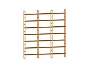 Scala FS3410174, Modulares Bücherregal aus Holz