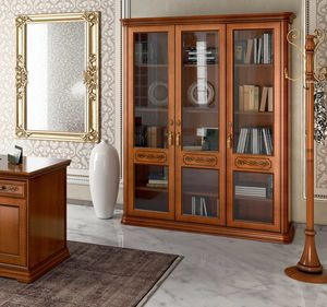 Torriani Home Office Bücherregal, Bücherregal im klassischen Stil