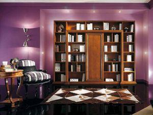 Vivre Lux Bücherregal, Klassisches Bücherregal mit personalisierten Dekorationen