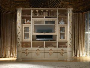 VL32 Vanity Schrank, Wohnzimmermöbel im klassischen Stil zum Outlet-Preis