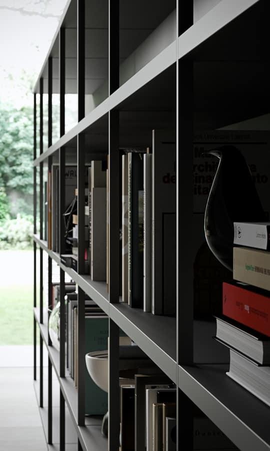 WALLBOX, Moderne Regale, Grund- und Funktionsstruktur
