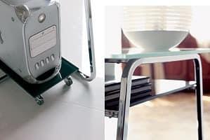 a104 clever, Schreibtisch PC-Stand mit zwei Spitzen