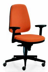 11555 Golf, Bürostuhl mit verstellbaren Armlehnen