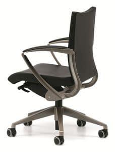 AVIA 4004, Operativen Bürostuhl mit Rollen und Armlehnen