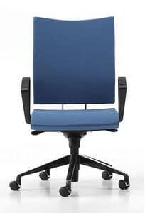 AVIAMID 3414, Gepolsterter Stuhl mit Armlehnen, für Büros und Studios