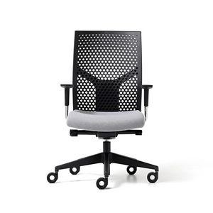 Fit poly, Bürostuhl mit Rückenlehne aus Polypropylen, verstellbar