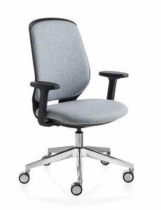 Key Smart Advanced, Bürostuhl mit gepolsterter Rückenlehne