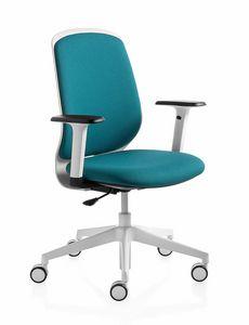 Key Smart, Vielseitiger, farbenfroher, dynamischer Bürostuhl