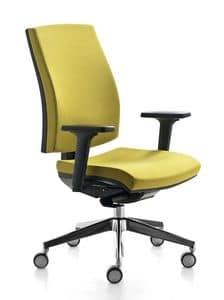 Kubika, Bürodrehstuhl, mit einstellbarer Lendenwirbelstütze