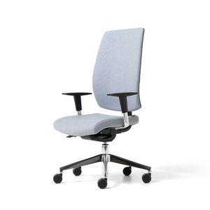 Lead gepolstert, Gepolsterter Bürostuhl mit ergonomischen Einstellungen
