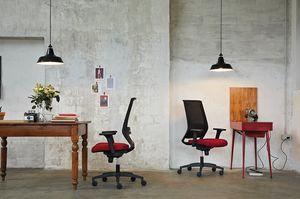 Logica 01, Arbeitsstuhl für raffinierte Büros
