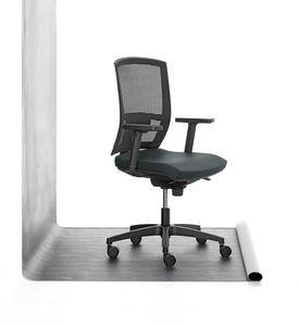 Mia 01, Bürostuhl gepolstert in Polyurethan, für das Büro