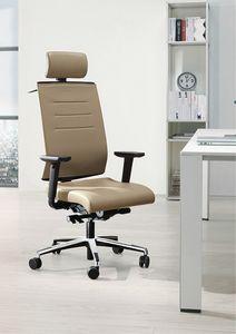 Sax Air, Bürostuhl mit Kopfstütze