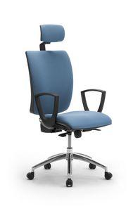 Sprint X mit Kopfstütze, Bürostuhl mit Kopfstütze
