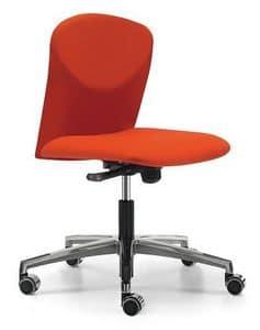 VULCAN 1300 Z, Gepolsterte Bürostuhl mit Rollen für Büro