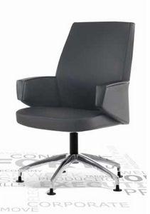 Grey-V, Büro-Besuchersessel