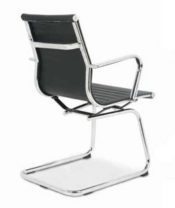 Lab-V, Sled Stuhl, für Bürokunden