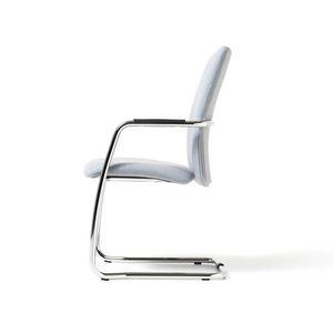 Social, Sessel auf Kufen, stapelbar, Metallbasis, für Office