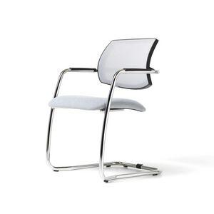 Social mesh, Moderner Stuhl, PU-Schaum, Netzkappe